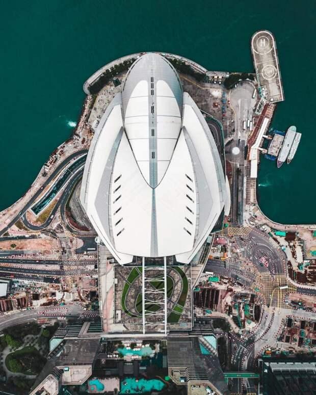 Города мира в объективе дронов