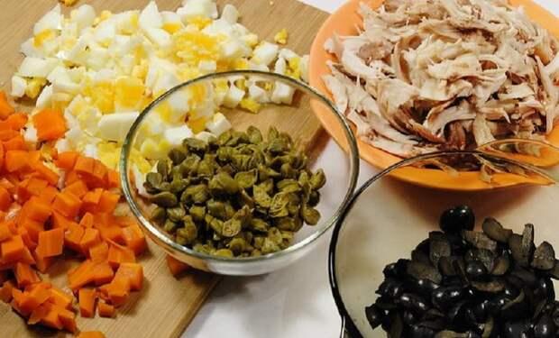 Ошибки гражданок в приготовлении оливье