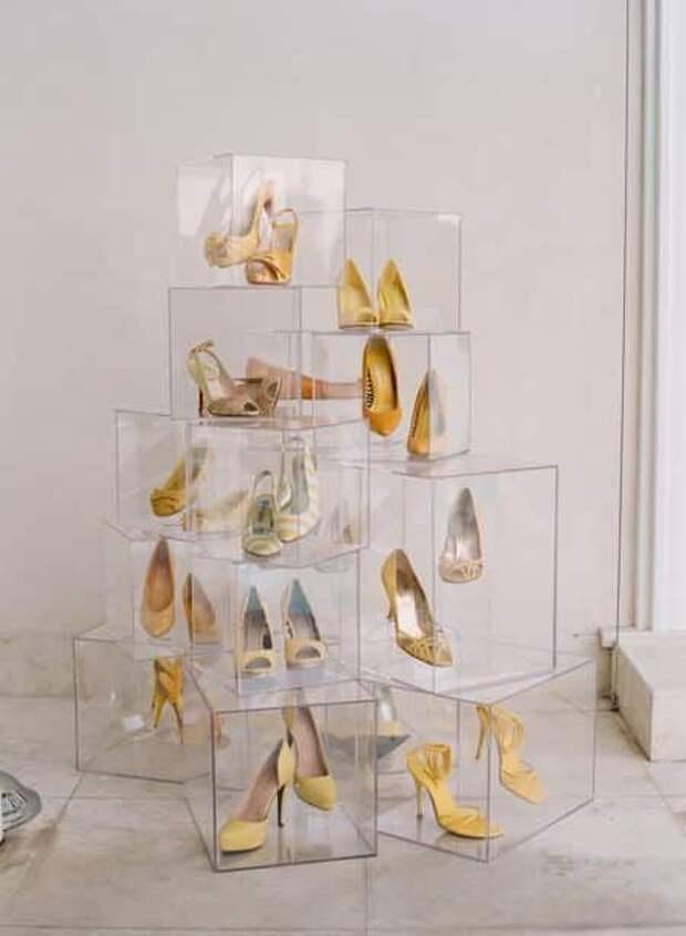 Обувные витрины