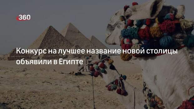 Официальный представитель ВС Египта Абдель Хафез Гариб рассказал о конкурсе на лучшее название новой столицы
