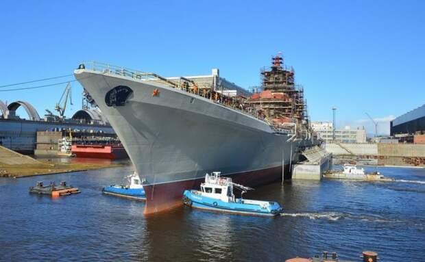 Завершен самый трудоемкий этап модернизации крейсера «Адмирал Нахимов»