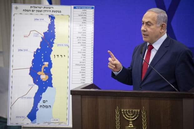 Вашингтон не позволит Израилю аннексировать территории до 2024 года
