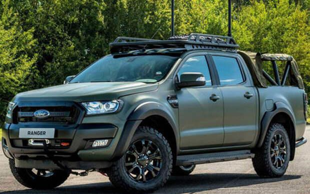 В стиле милитари: Ford Ranger переделали для армии