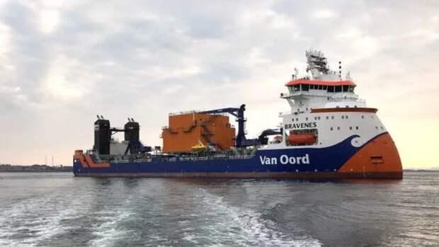 Еще одно иностранное судно приступает кстабилизации «Северного потока— 2»