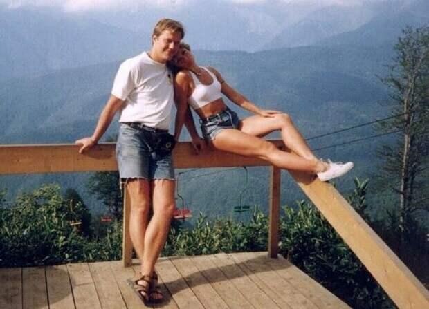 Наталья с первым мужем Денисом Мурашкевичем | Фото: kinopoisk.ru