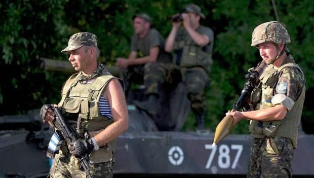 Нежелающие ехать в зону «спецоперации» украинские военные подняли бунт в Запорожье