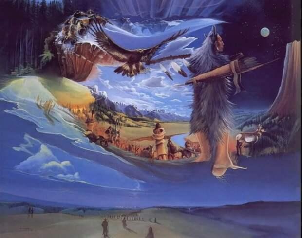 Осознанные сновидения в шаманизме.