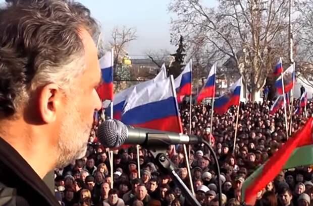 Дорогие украинцы, спасибо за Крым!