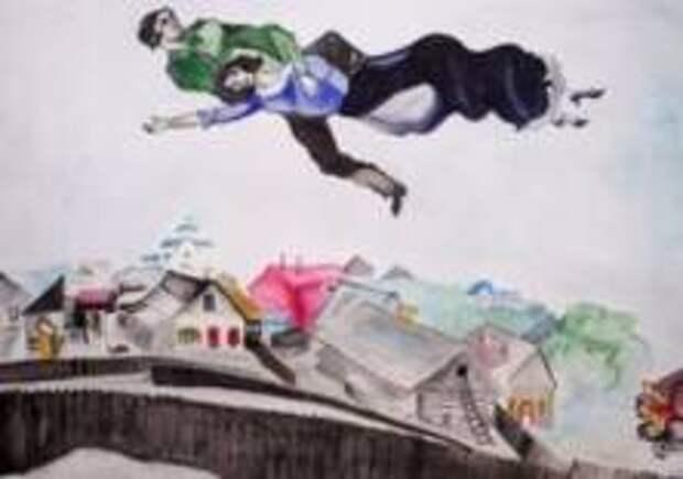 В Неаполе впервые открылась выставка Шагала