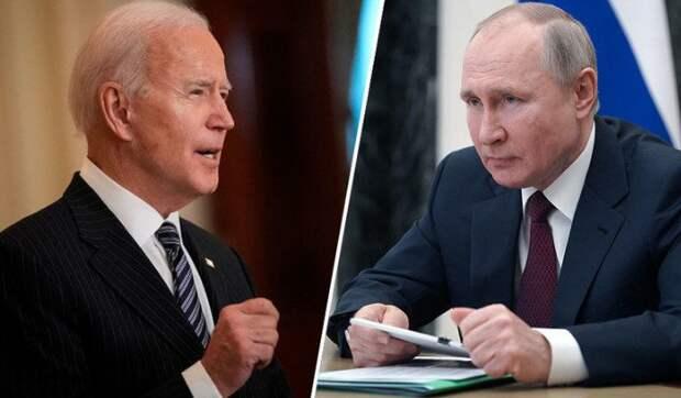 Путин и Байден провели телефонные переговоры