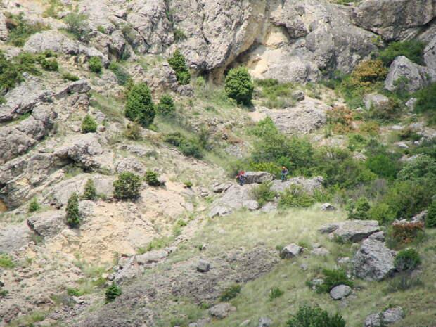 Четверо туристов заблудились в районе Демерджи