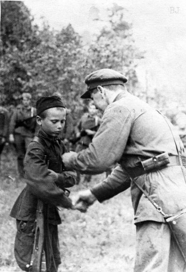 В Великой Отечественной дети сражались не хуже взрослых./Фото: pp.userapi.com