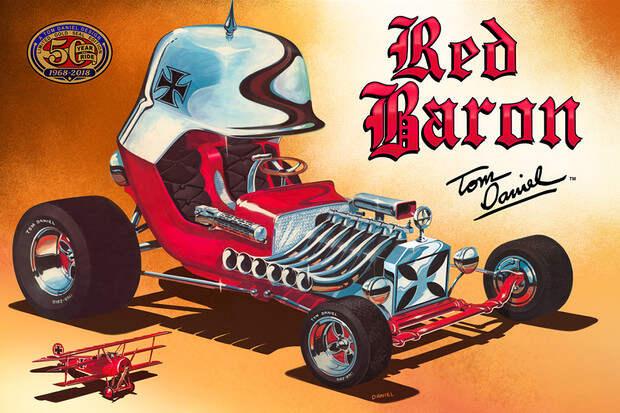 «Красный барон»: история самого известного хот-рода в мире.