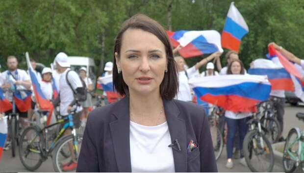 Волонтеры «Совета матерей» подняли триколор в честь российских олимпийцев