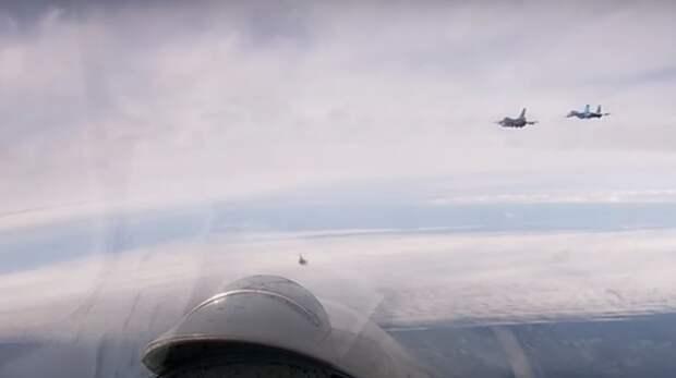 Пилоты ВВС США рассказали о выбросах адреналина при встрече с российскими истребителями