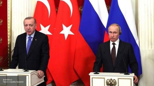 Путин и Эрдоган отметили важность соблюдения перемирия в Нагорном Карабахе