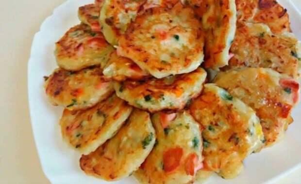 Оладьи со вкусом пиццы