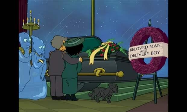 Похороны в космосе 3