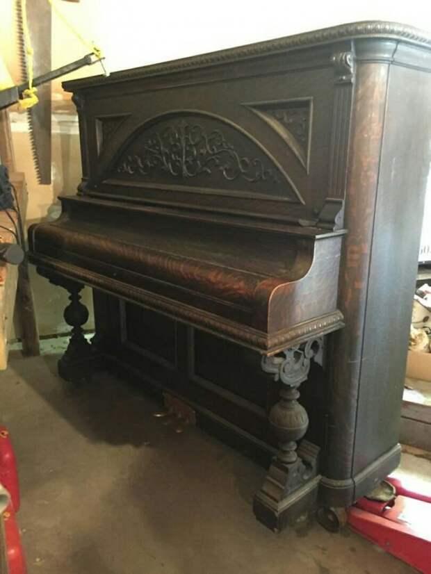Переделка пианино Diy