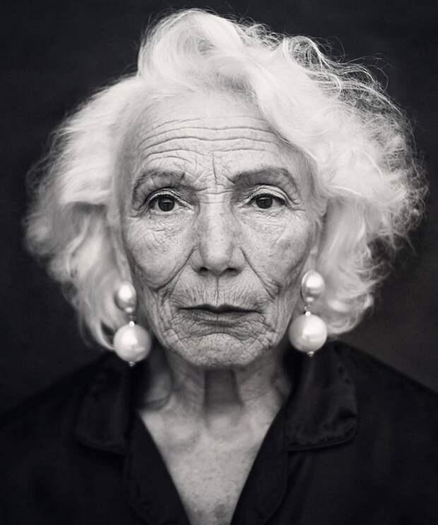 Самая старшая и любимая модель фотографа Игоря Гавара.