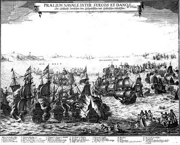 Сражение при Фемарне, 1644 год - Датский флот нового времени: типы кораблей | Warspot.ru