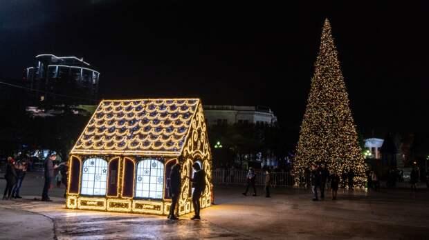Тысяча новогодних огоньков: Когда Ялта преобразится к праздникам