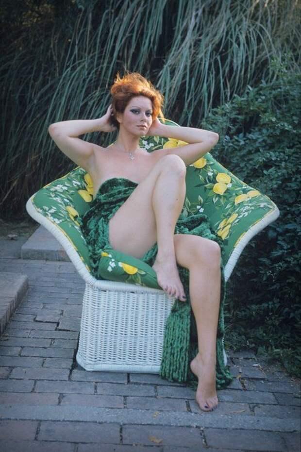 Итальянская красотка Джанна Серра.