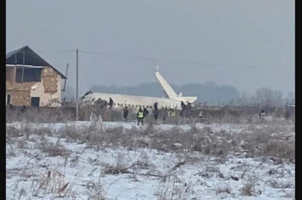 Вице-премьер Казахстана назвал возможные причины крушения самолёта в Алма-Ате
