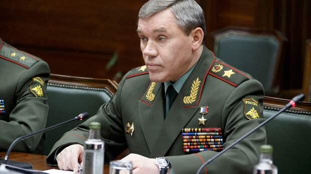 Глава Генштаба ВС РФ Герасимов провел переговоры с главой Военного комитета НАТО