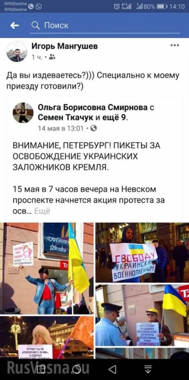 Добровольцы Донбасса разогнали бандеровцев вПетербурге (ФОТО) | Русская весна