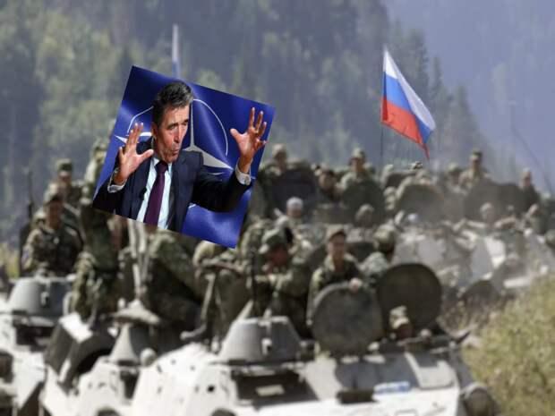 НАТО угрожает России военными действиями против нас в Южной Осетии и Абхазии
