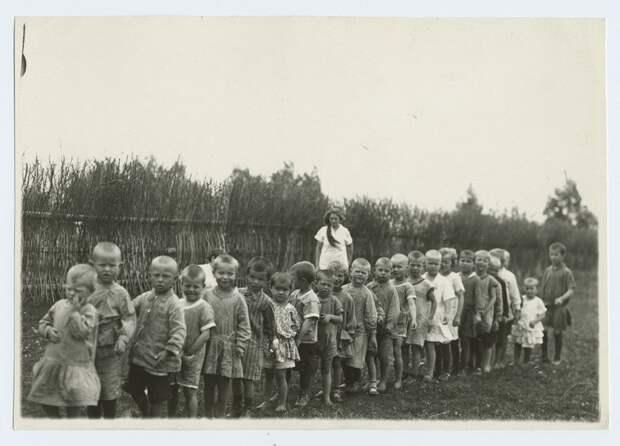 1 Первый советский детский дом. 1918 год