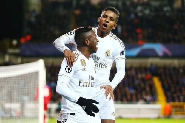 Винисиус, Мбаппе, Де Брейне и Маунт претендуют на лучший гол недели Лиги чемпионов