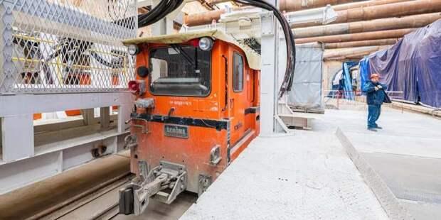 Проходка всех тоннелей БКЛ должна завершиться в текущем году