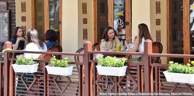 Рестораторы Москвы готовы внедрить систему QR-кодов в дневных заведениях. Фото: М. Мишин mos.ru
