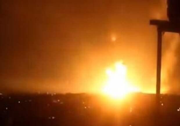 Израиль ответил на ракеты из Газы