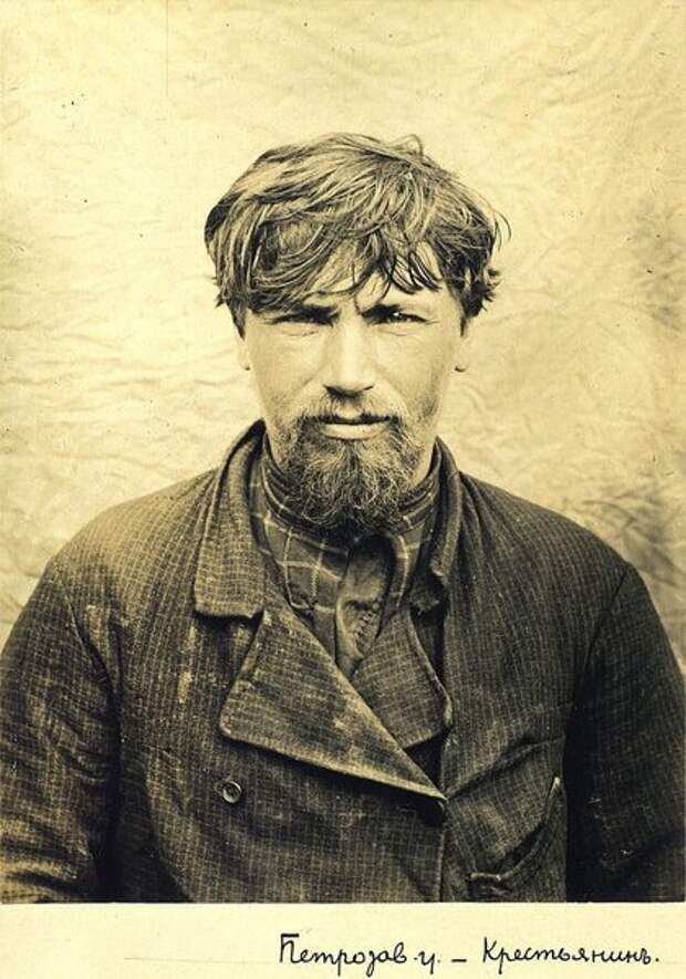 Портрет крестьянина. Неизвестный автор, 1900–1905 год, Олонецкая губ., г., Петрозаводск, Кунсткамера.