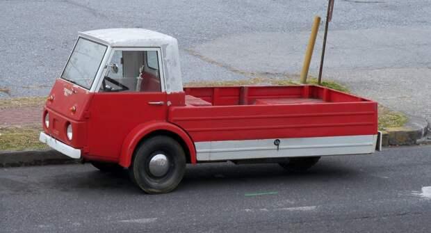 Trivan — странный 3-колёсный грузовик из Америки