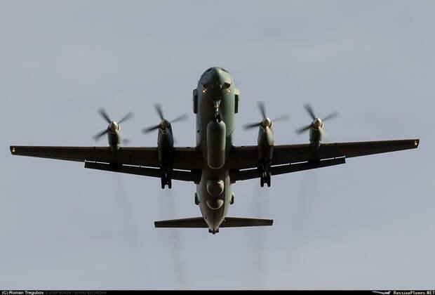 В Сирии сбили российский самолет-разведчик Ил-20