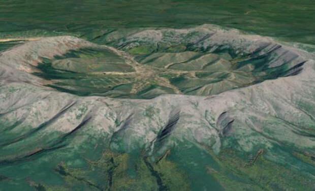 Закрытая для туристов гора