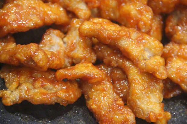Рецепт мяса по-китайски
