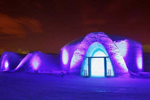Snow Village Montreal Canada @ Matthieu Bichat / Snow Village Canada