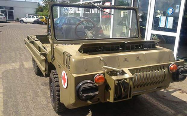 «Почти новый и без пробега»: в Германии выставили на продажу ЛуАЗ-967