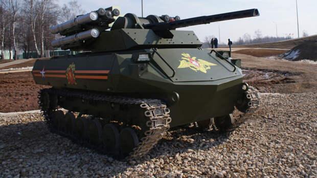 Военные эксперты из Польши пришли в восторг от новых роботанков ВС РФ «Уран-9»