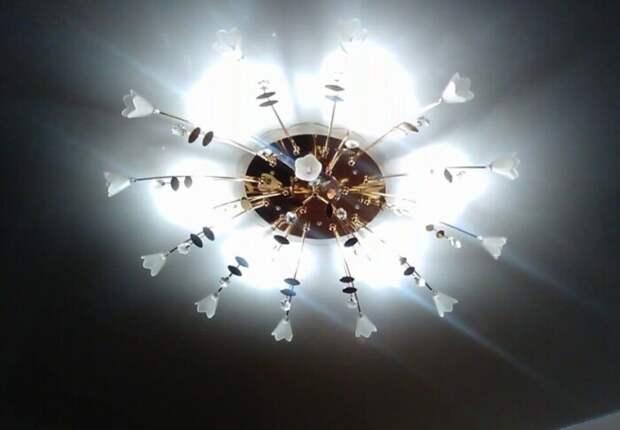 Интенсивно мерцающие лампы вредны для глаз. /Фото: svet-depo.ru.