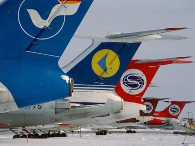 В России осталась 121 авиакомпания