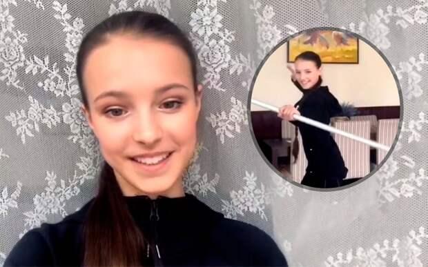 Фигуристка Щербакова повторила упражнение Овечкина ипревзошла результат хоккеиста: видео