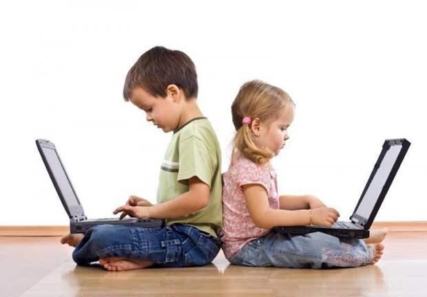 Время, проведенное у экрана гаджета, влияет на развитие ребенка