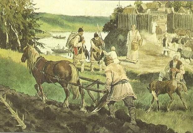 Реки и люди Древней Руси: как жили восточные славяне и сколько их было / история, история Руси, демография / Discours.io