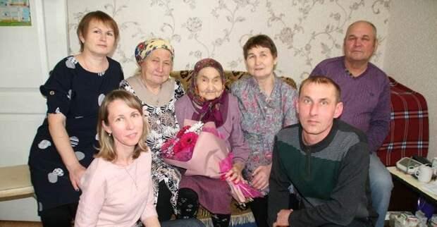 Живущая в Ижевске ветеран войны Евдокия Князева отпраздновала 100-летний юбилей